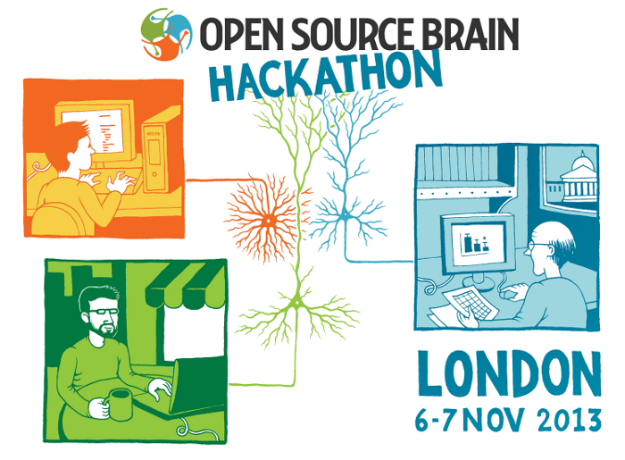 Open source brain Open source illustrator